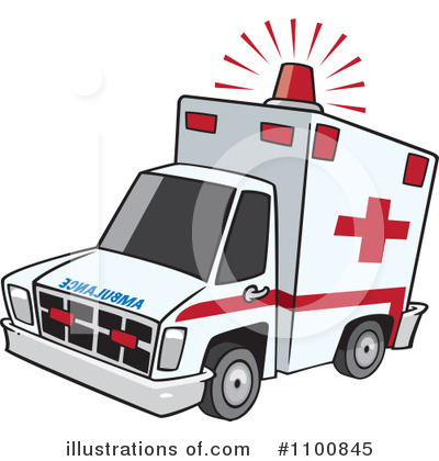 Ambulance pictures clipart clipart freeuse library Ambulance Clipart #1100845 - Illustration by toonaday clipart freeuse library