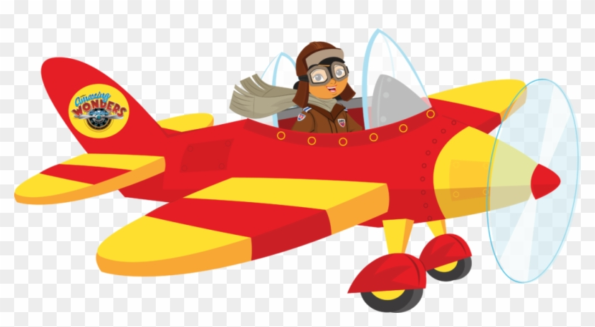 Amelia earhart clipart png library stock Advertising Clipart Plane - Cartoon Amelia Earhart Plane, HD Png ... png library stock
