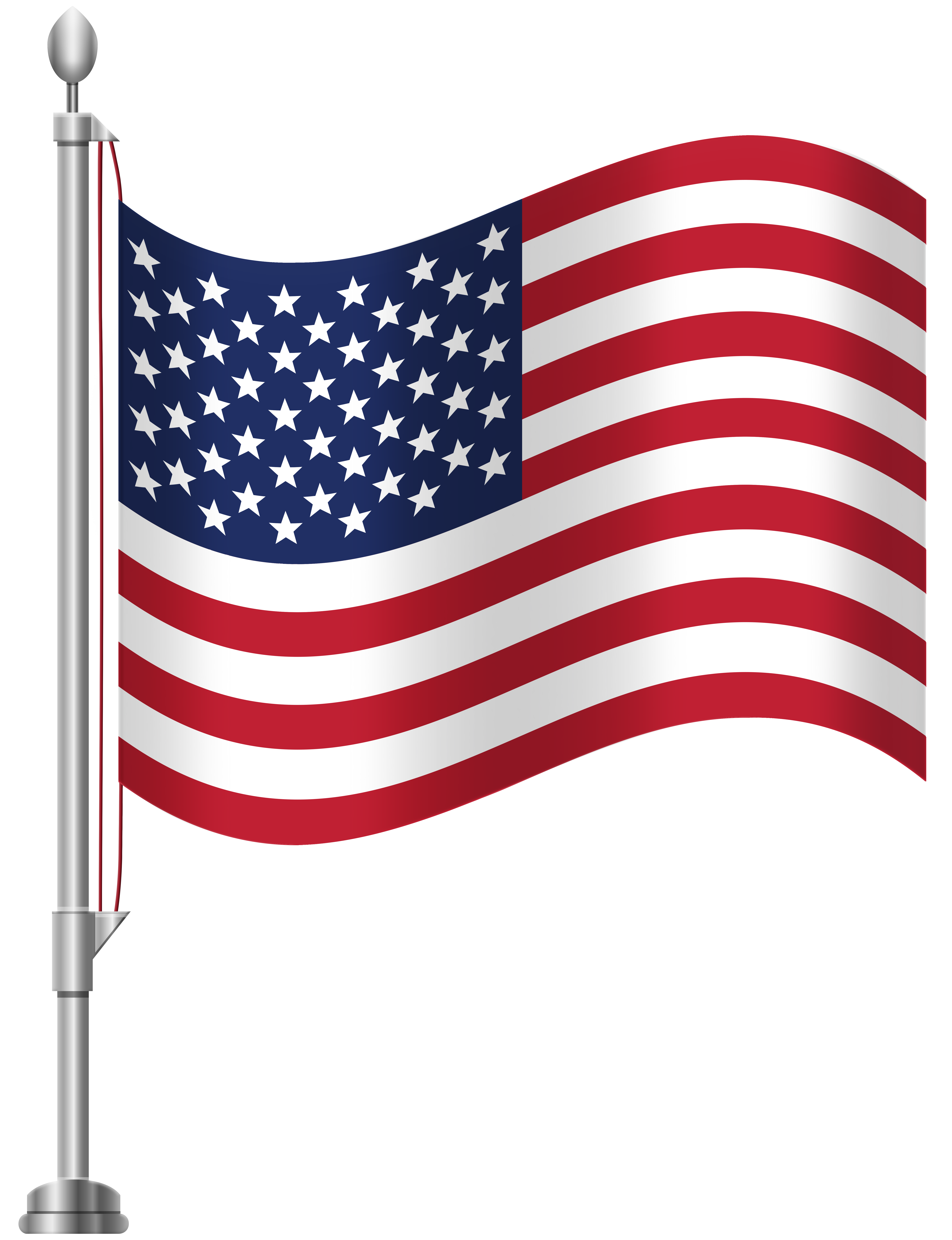 Clipart flag clip art freeuse download United States of America Flag PNG Clip Art - Best WEB Clipart clip art freeuse download