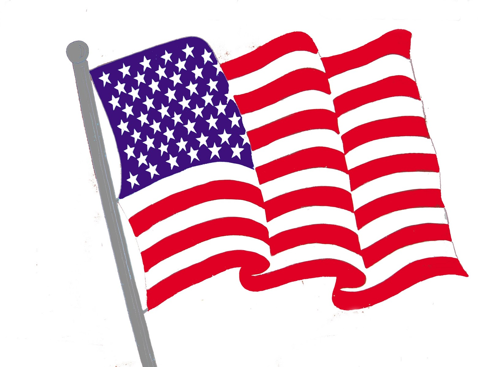 Free clipart american flag svg library library American Flag Clip Art | Free Download Clip Art | Free Clip Art | on ... svg library library