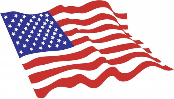 Free clipart american flag jpg royalty free library American flag clip art free vector free vector download (220,266 ... jpg royalty free library