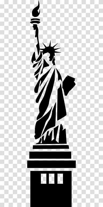 America freedom clipart picture download Statue of Liberty Statue of Freedom Silhouette Monument, America ... picture download