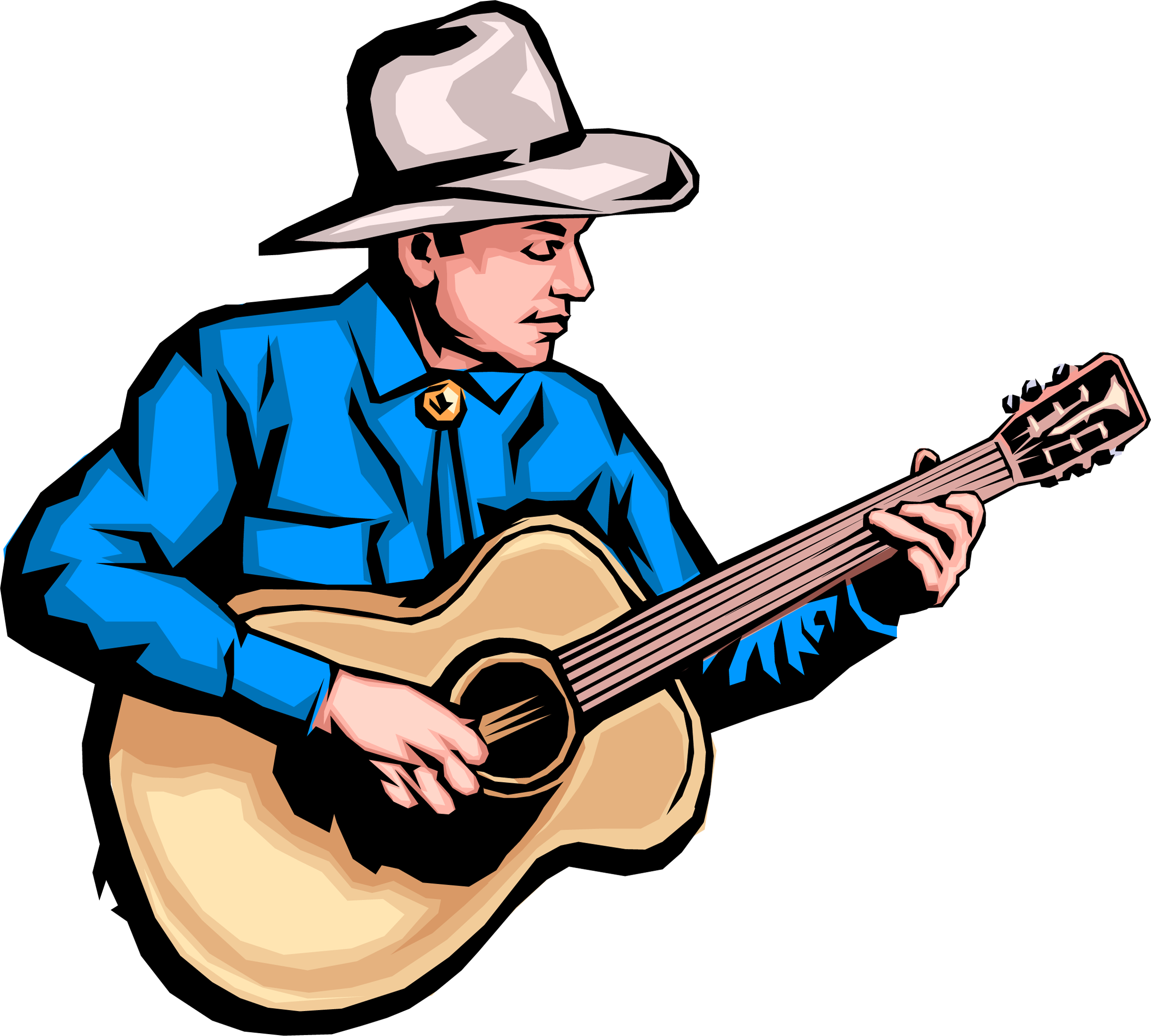 Country music clipart free png black and white library Free Country American Cliparts, Download Free Clip Art, Free Clip ... png black and white library