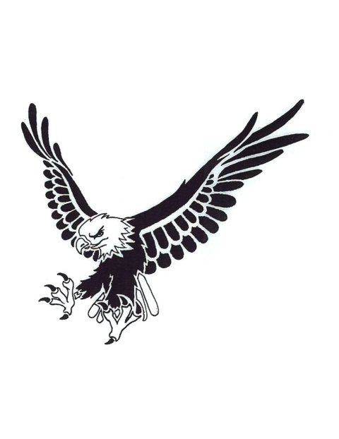 American bald eagle clipart black and white clip library download Free Black And White Eagle, Download Free Clip Art, Free Clip Art on ... clip library download