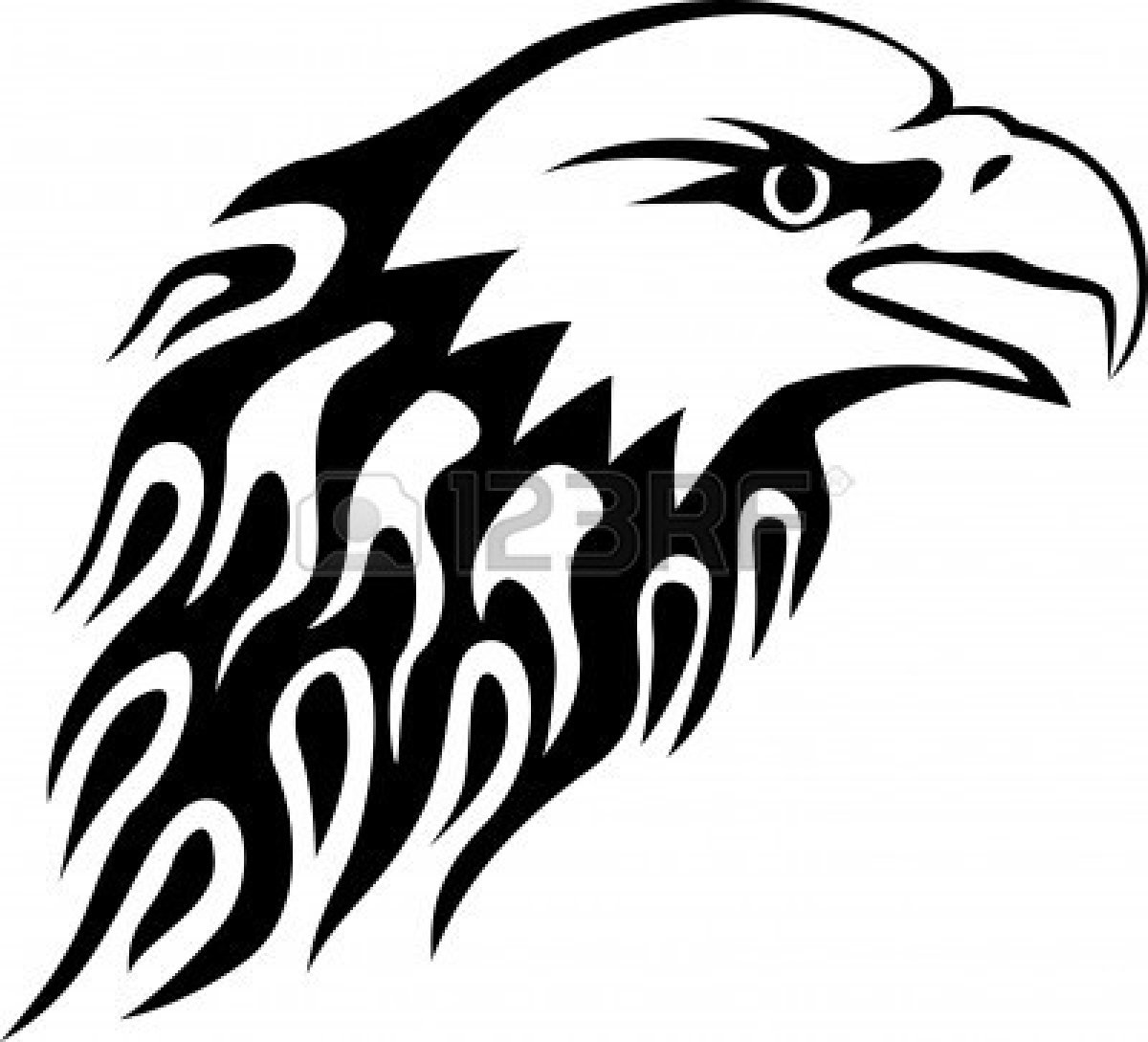 American bald eagle clipart black and white picture download Bald Eagle Clipart Black And White | Free download best Bald Eagle ... picture download