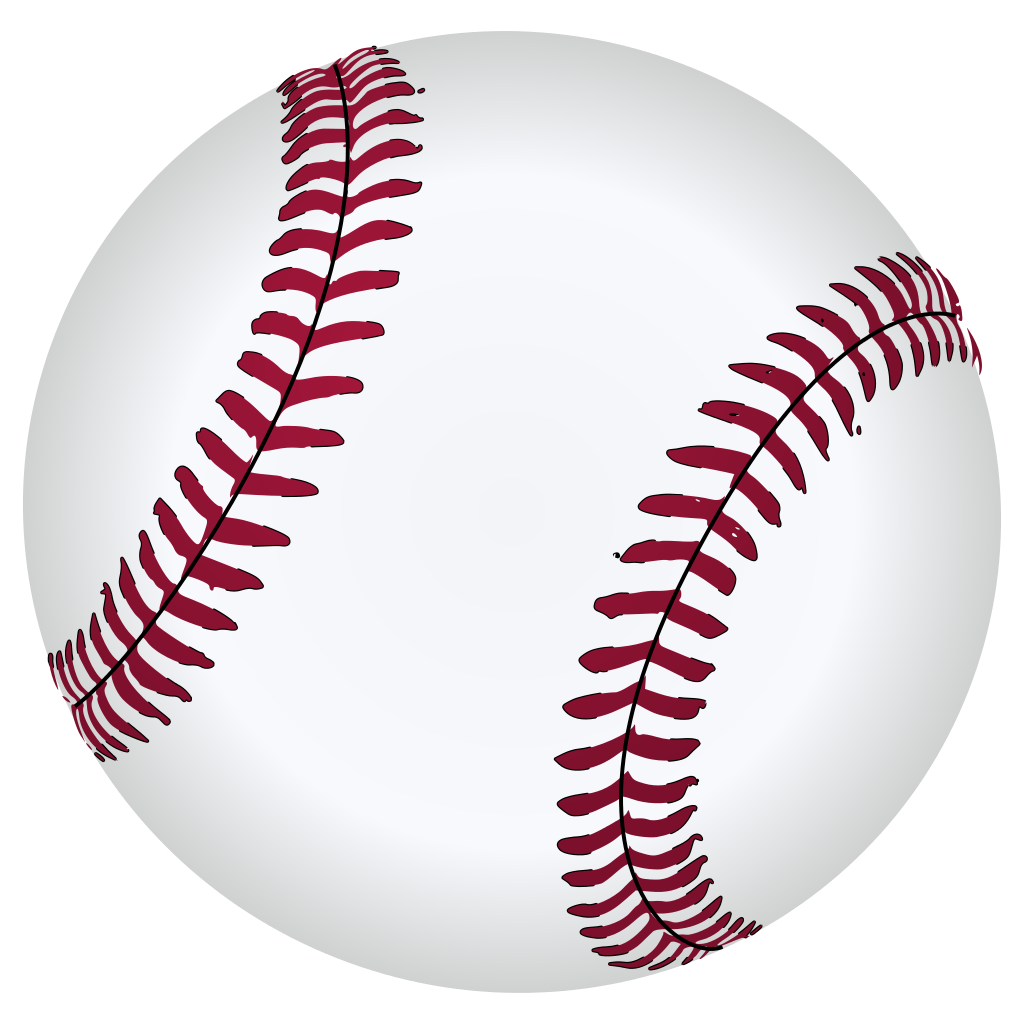 Baseball free clipart black and white library File:Baseball.svg - Wikipedia black and white library