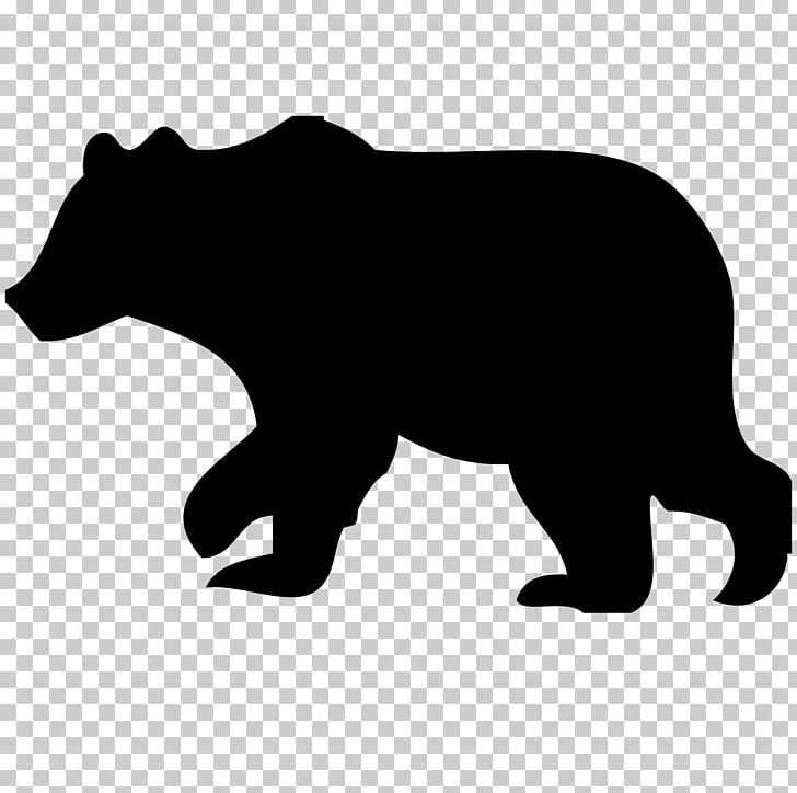 American black bear clipart svg black and white stock American Black Bear Polar Bear Grizzly Bear PNG, Clipart, American ... svg black and white stock