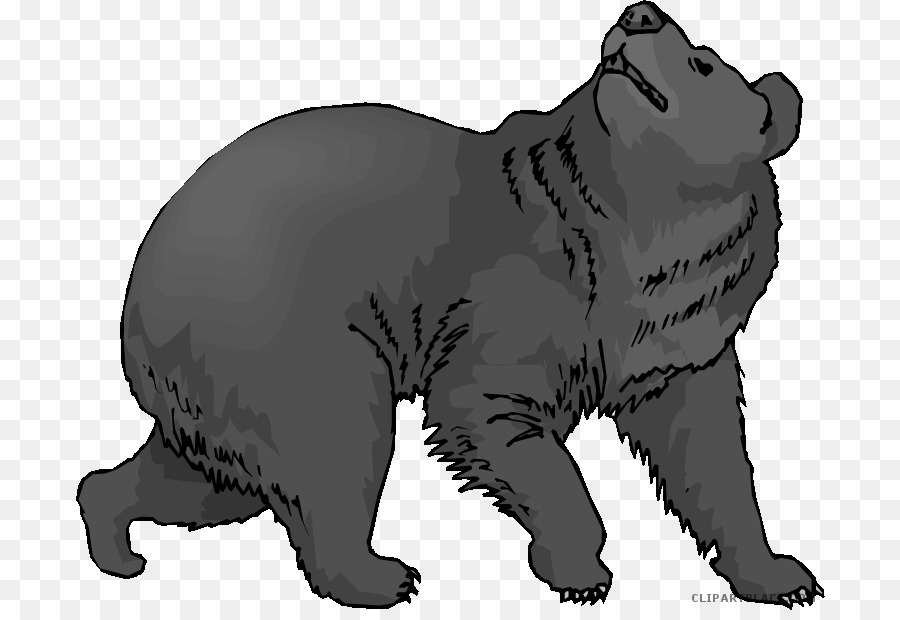 American black bear clipart svg black and white American Black Bear Clip Art Grizzly Bear #278734 - Clipartimage.com svg black and white