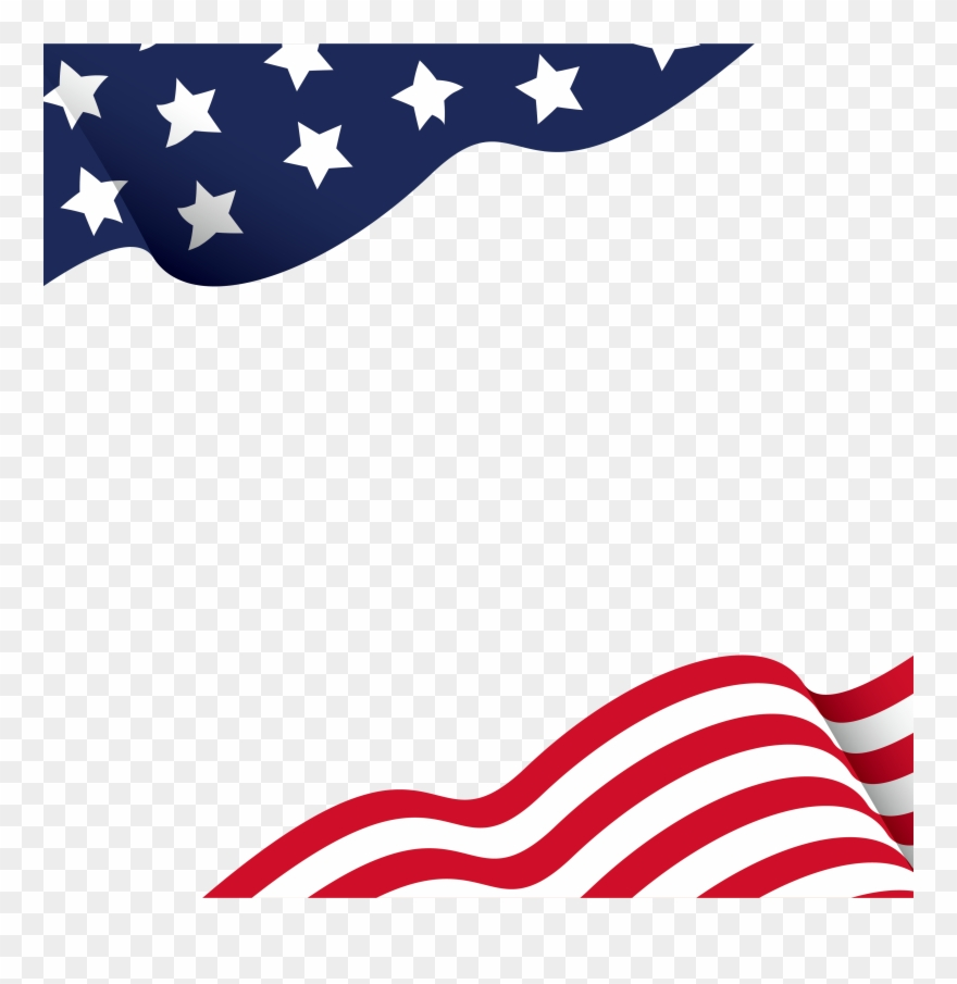 Us flag clipart border vector black and white download American Flag Borders - Free Download Png American Flag Clipart ... vector black and white download