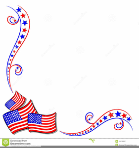 American clipart border clipart black and white library Free Clipart Border American Flags   Free Images at Clker.com ... clipart black and white library