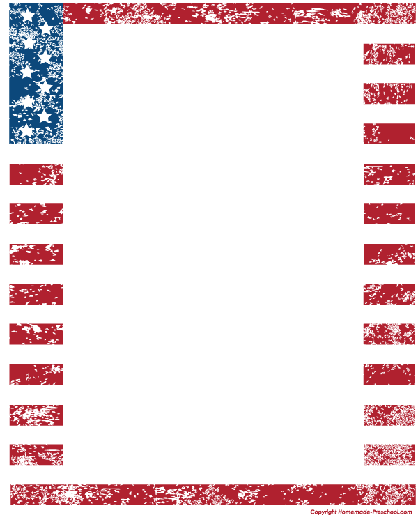 Us flag page clipart border picture transparent Free American flags clipart, ready for PERSONAL and COMMERCIAL ... picture transparent