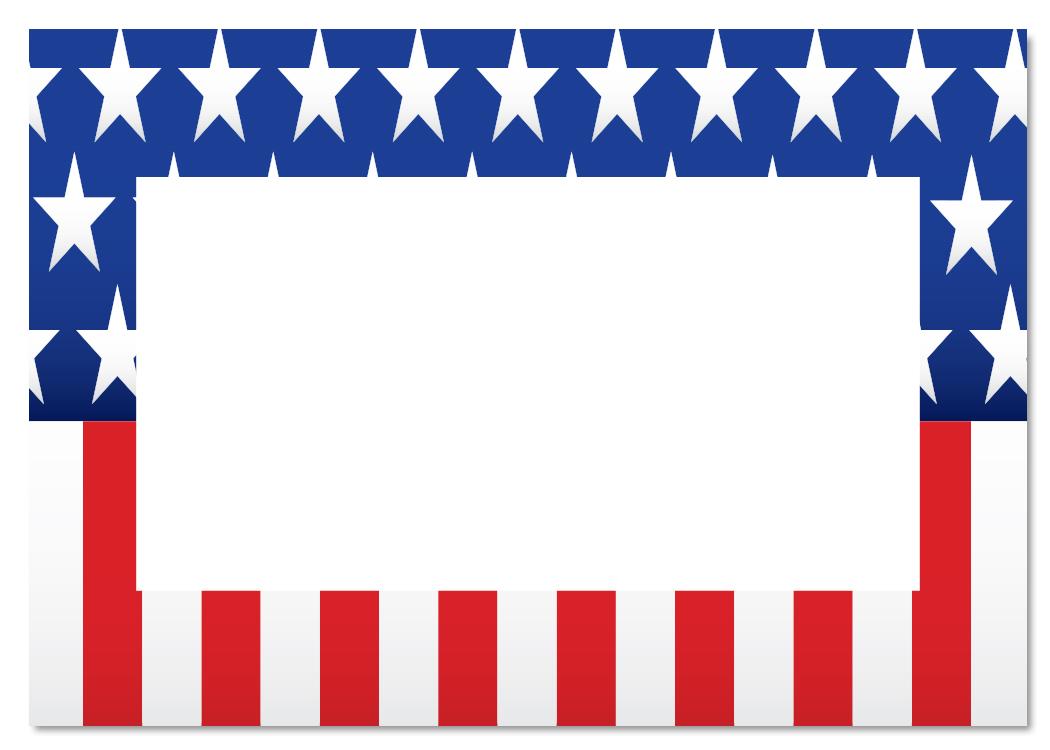 American stars border clipart black and white download borders america clipart | Clipart Panda - Free Clipart Images black and white download