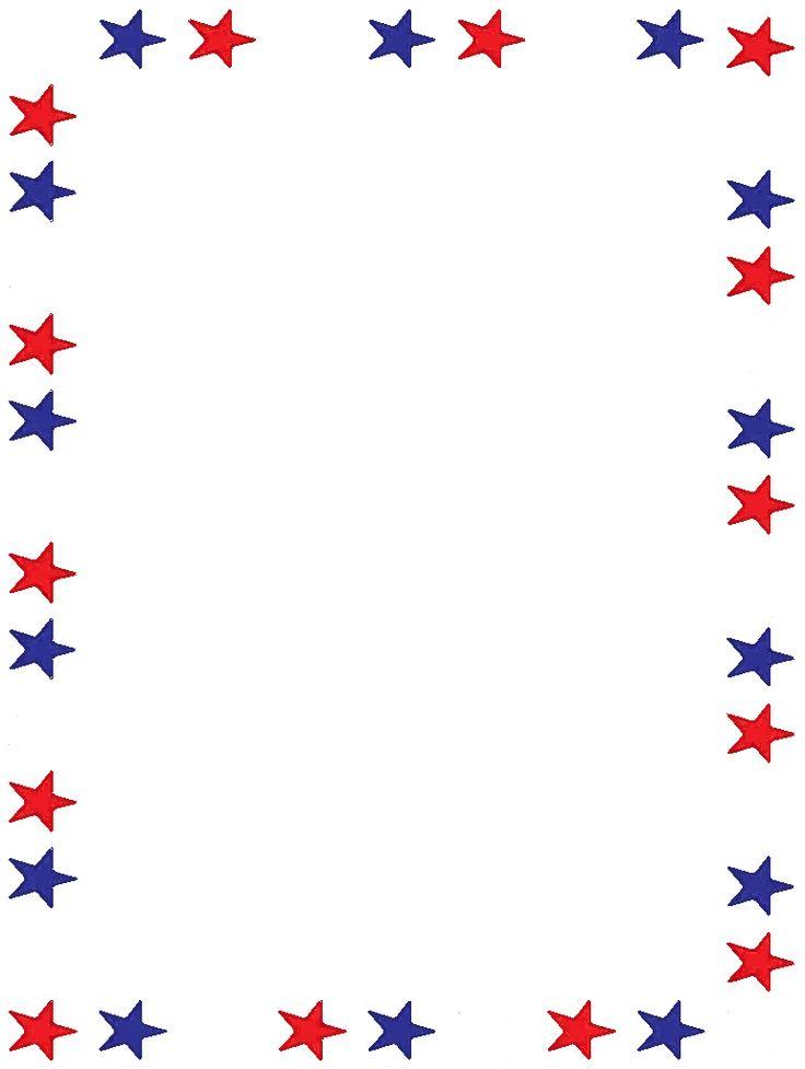 American clipart border vector library Patriotic Page Borders   Free download best Patriotic Page Borders ... vector library