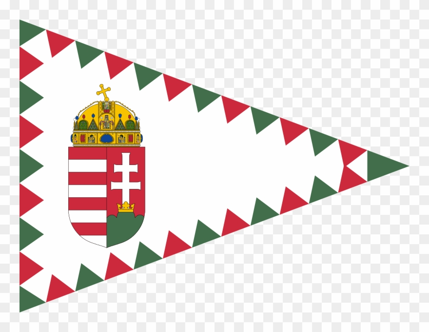 American consulate clipart clipart black and white Senior Commander\'s Pennant Of Hungary - Consulate Of Hungary Logo ... clipart black and white