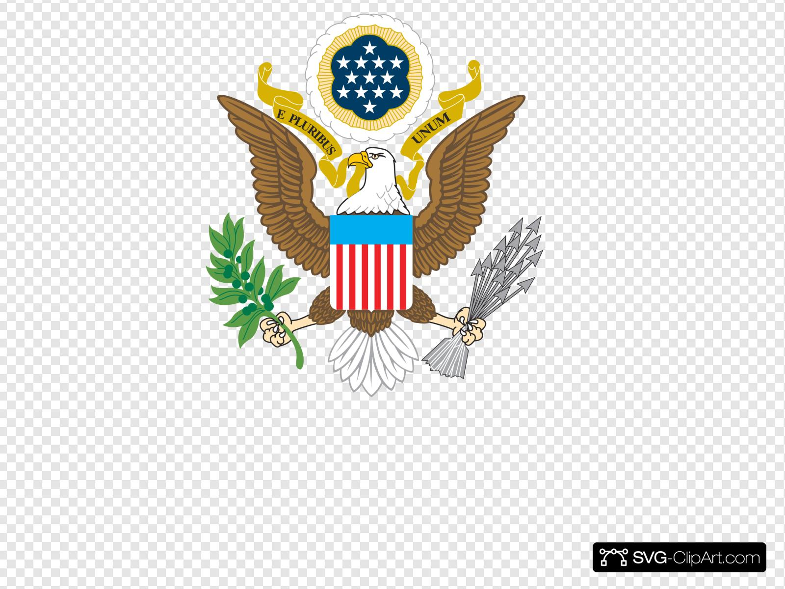 American crest clipart vector freeuse download American Eagle Clip art, Icon and SVG - SVG Clipart vector freeuse download