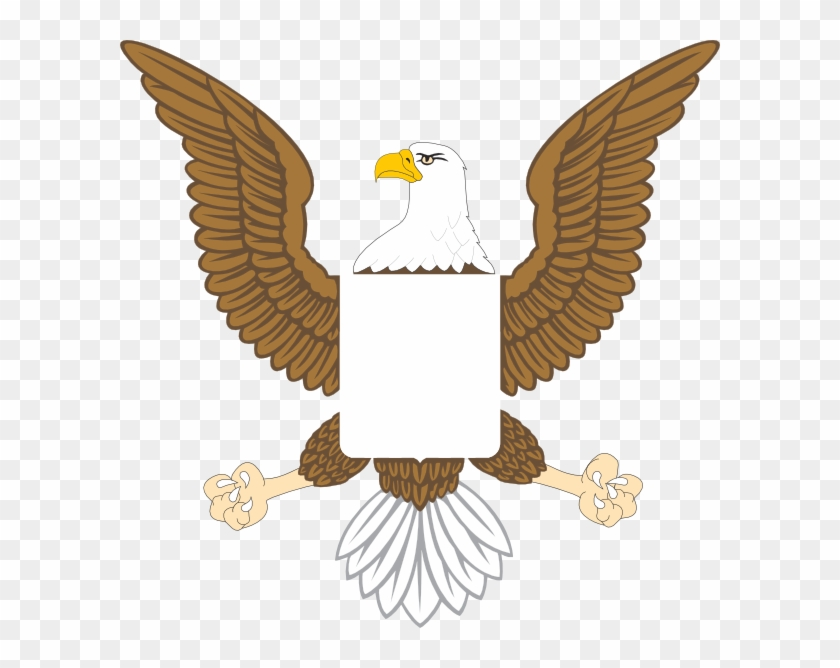 Eagle and shield clipart