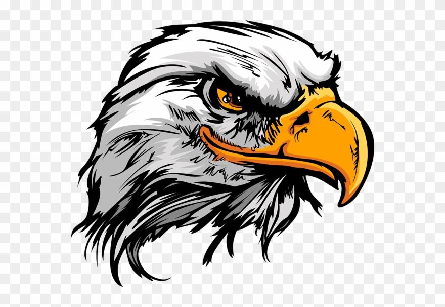 American eagle head clipart vector library Best Hd Eagle Head Tattoo Design Library - Eagle Painting Clipart ... vector library