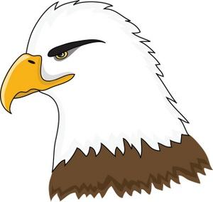 Cute hawk clipart