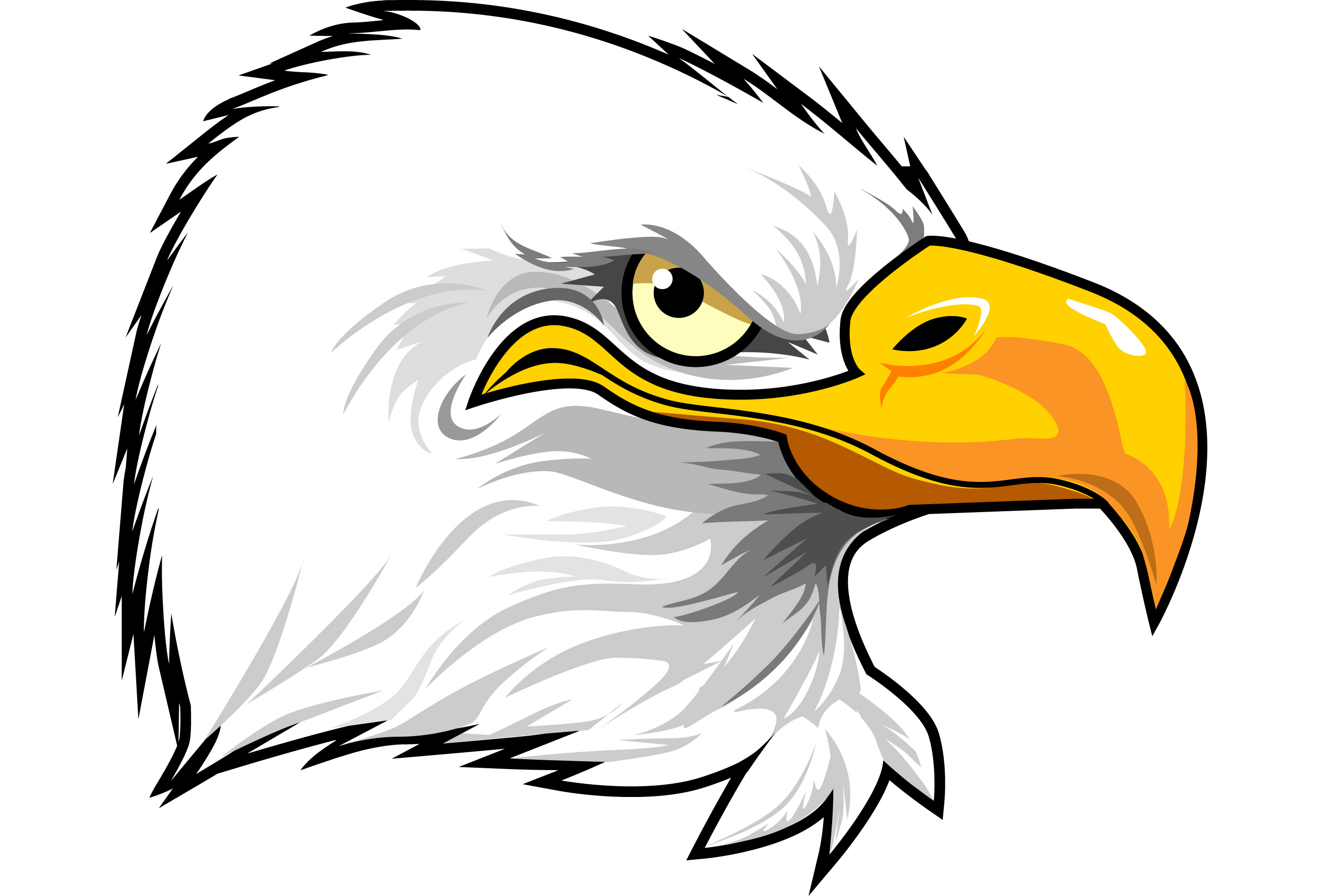 American eagle head clipart svg royalty free download 70+ Eagle Head Clipart   ClipartLook svg royalty free download