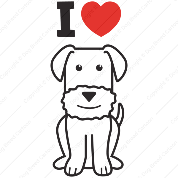 American eskimo dog clipart png black and white library Shop | Buy Dog Caricature | Download Dog Breed Cartoon Design png black and white library