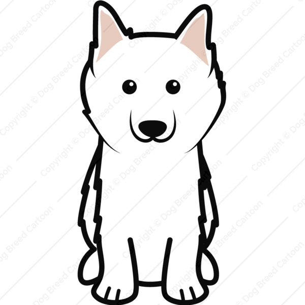 American eskimo dog clipart royalty free download Special Archives | Dog Breed Cartoon royalty free download
