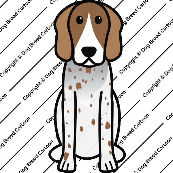 American eskimo dog clipart clip transparent stock Special Archives | Dog Breed Cartoon clip transparent stock
