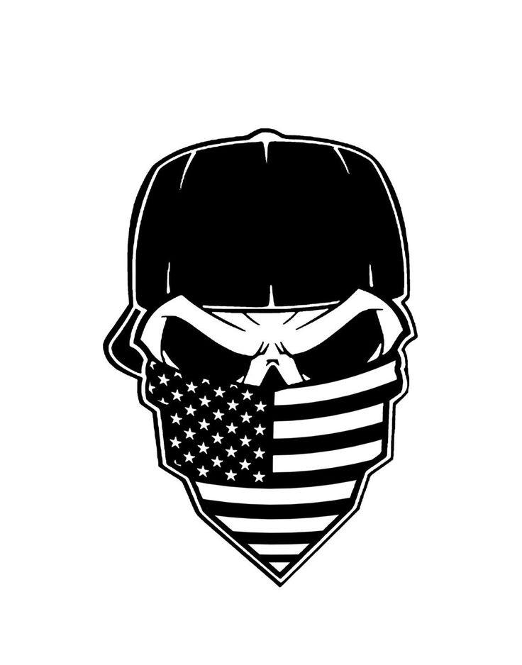 American flag bandana clipart vector freeuse library Skull american flag clipart - Clip Art Library vector freeuse library