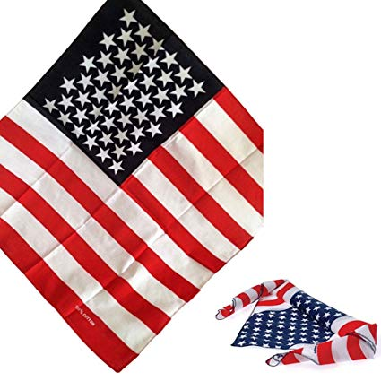 American flag bandana clipart clipart free download Amazon.com: USA American Flag Bandana Scarf Head Wrap Hat 21x21 Star ... clipart free download