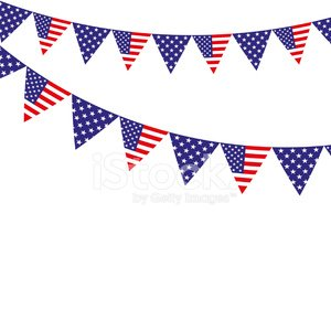 American flag bunting clipart graphic freeuse download American Flag Bunting premium clipart - ClipartLogo.com graphic freeuse download