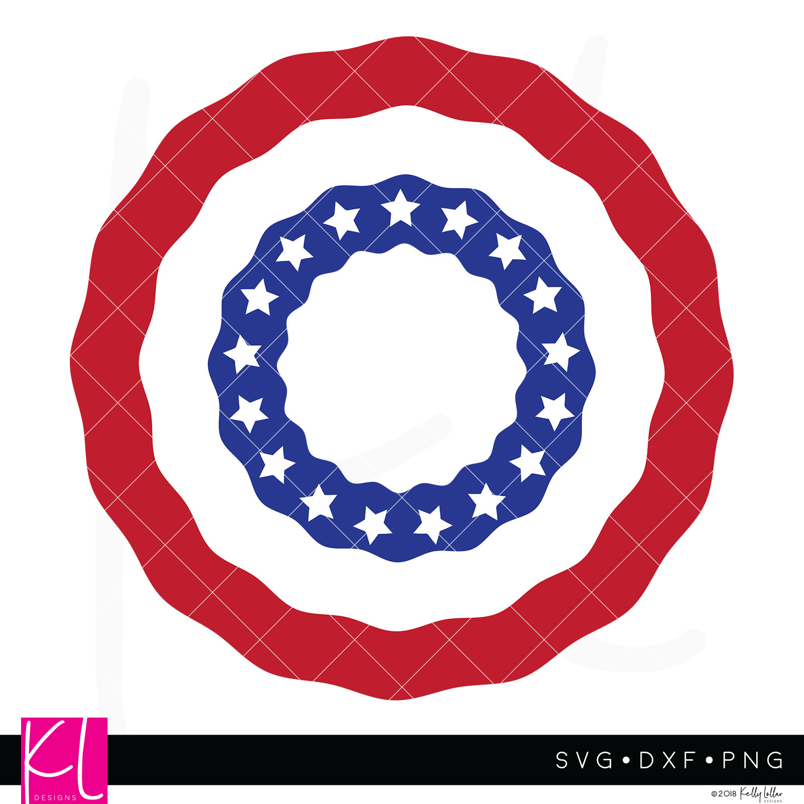 American flag bunting clipart svg library stock American Flag Bunting Monogram svg library stock