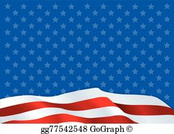 American flag clipart background royalty free stock American Flag Background Clip Art - Royalty Free - GoGraph royalty free stock