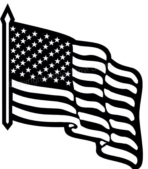 Usa flag black and white clipart banner free stock 61+ American Flag Clip Art Black And White | ClipartLook banner free stock