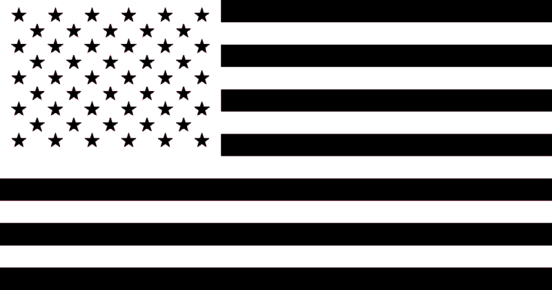 American flag clipart black and white s clipart royalty free library Black And White Flag PNG Transparent Black And White Flag.PNG Images ... clipart royalty free library