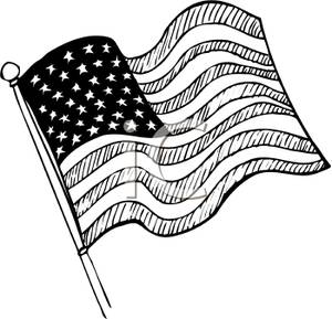 American flag clipart black and white s transparent download American Flag Clip Art - 210*299 - Free Clipart Download ... transparent download