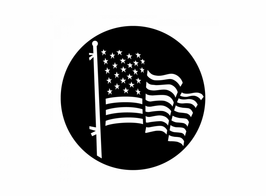 American flag clipart black and white s9m freeuse library American Flag Black And White Png Transparent Png Images - Circle ... freeuse library