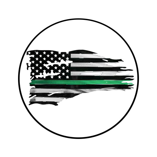 American flag clipart black and white s9m clip art free American Flag with Green Stripe clip art free