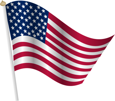 American flag clipart clear background banner royalty free stock Download AMERICAN FLAG Free PNG transparent image and clipart banner royalty free stock
