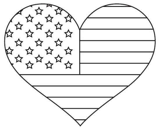 American flag clipart colorless banner free library Pin by Jenny Mrkvicka on Stuff to make | American flag coloring page ... banner free library