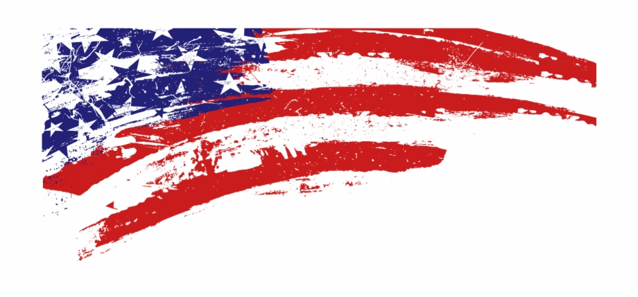 American flag clipart design free Source - - Free Clipart American Flag - patriotic border png, Free ... free