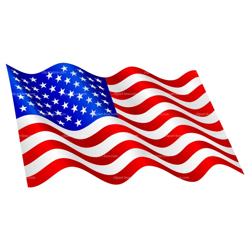 Flying flag clipart picture library library 26+ Clip Art Us Flag | ClipartLook picture library library