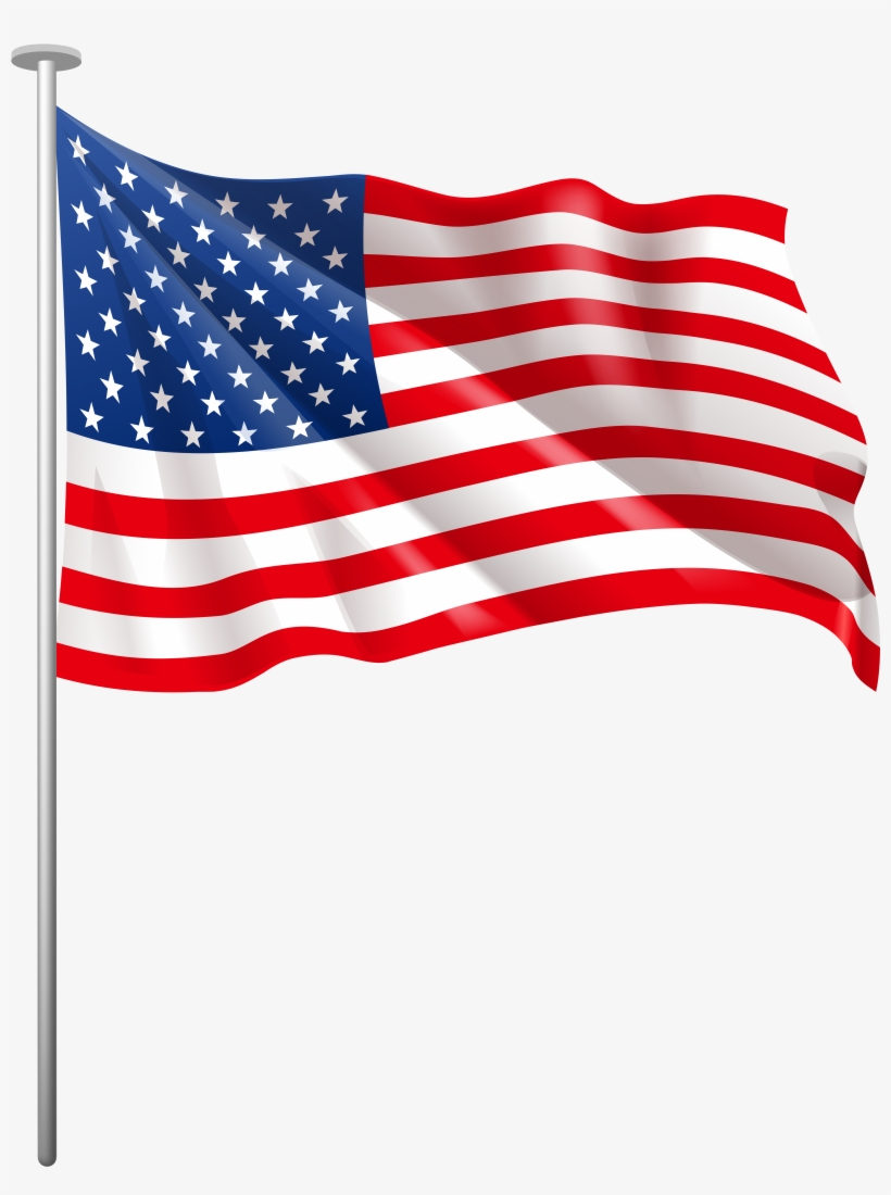 American flag clipart png vector royalty free library Us Flag American Flag Usa Clipart Png - Usa Flag Clipart Png - Free ... vector royalty free library