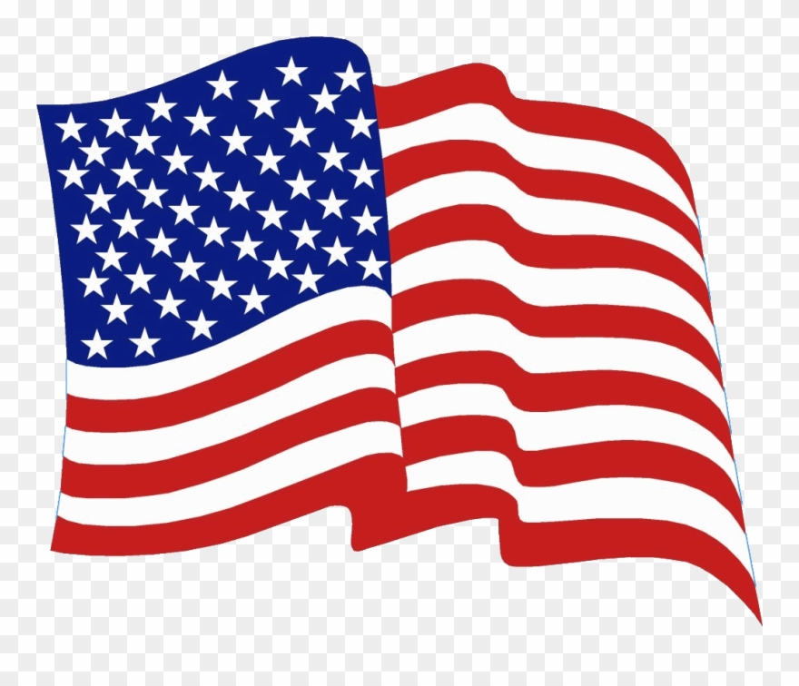American flag clipart png jpg library download Us Flag Waving Clipart - Png Download (#1646110) - PinClipart jpg library download