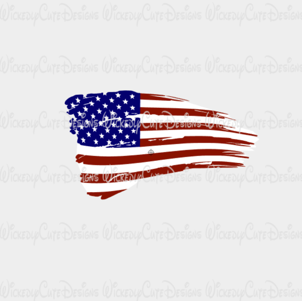 American flag clipart torn graphic download Distressed American Flag SVG, DXF, EPS, PNG Digital File | Wickedly ... graphic download