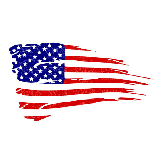 American flag clipart torn vector library library Distressed American Flag svg US Flag svg Flag Decor Patriotic svg ... vector library library