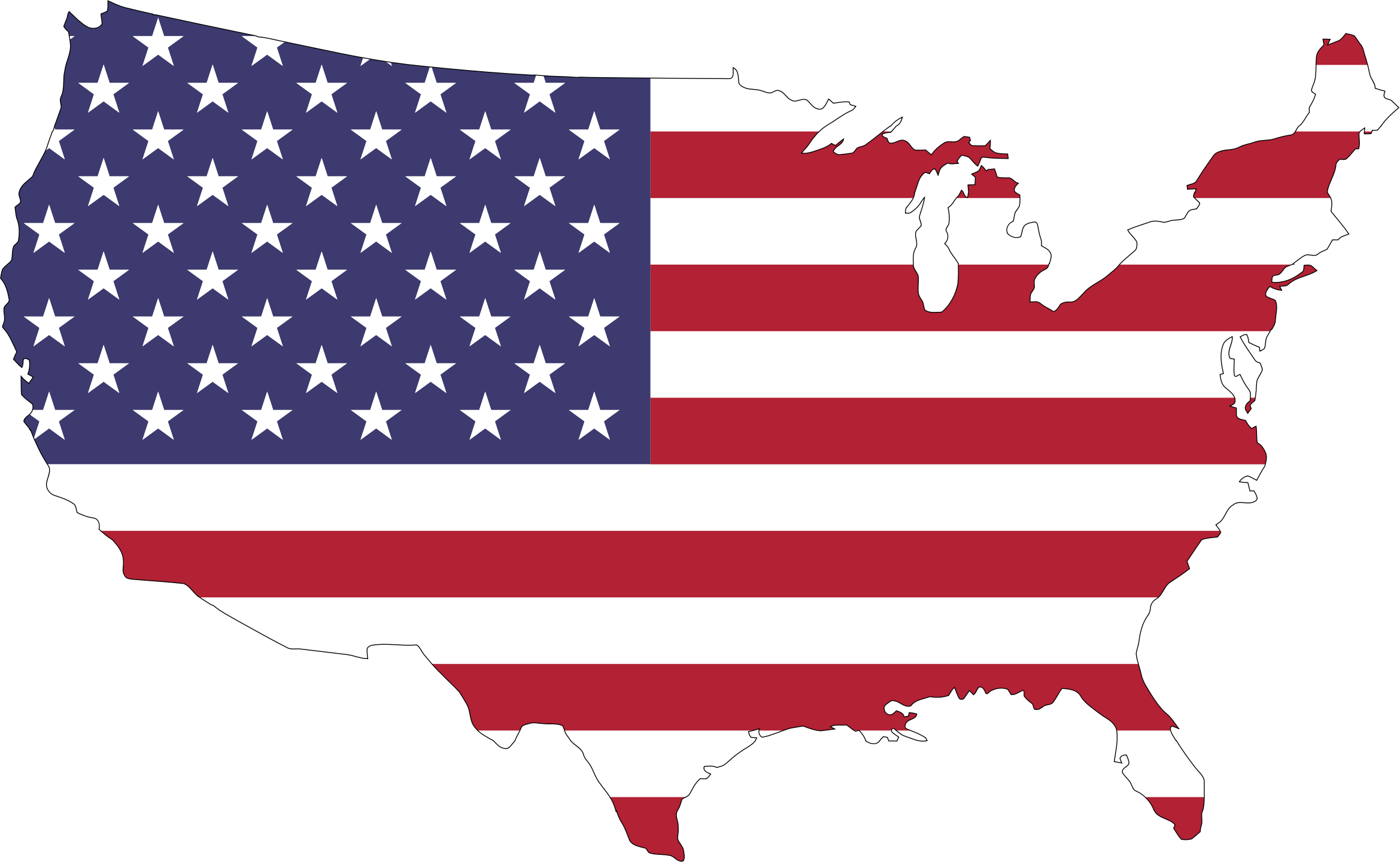 American flag clipart vector free vector free library American Flag Country vector clipart image - Free stock photo ... vector free library
