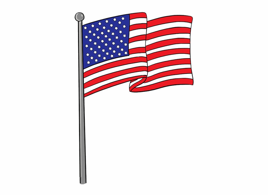 American flag drawing clipart royalty free stock How To Draw American Flag - American Flag Drawing Easy Free PNG ... royalty free stock