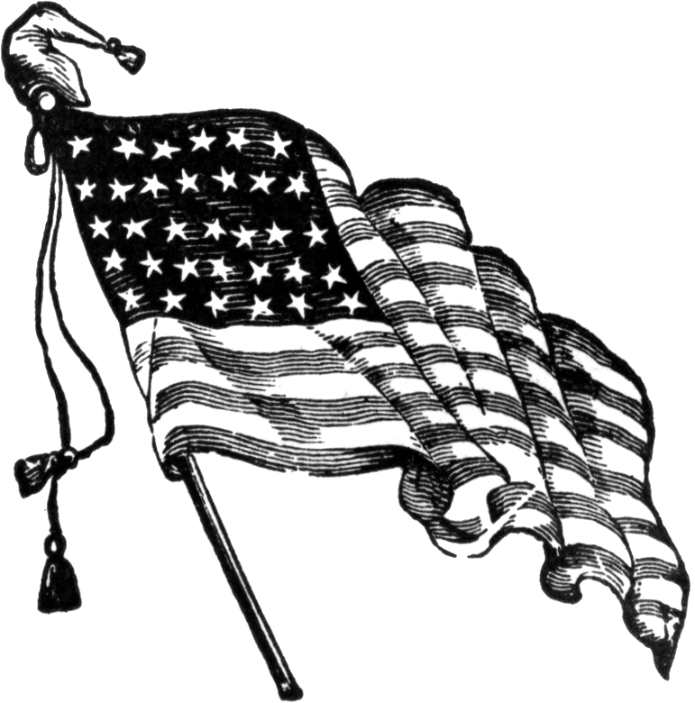 American flag drawing clipart svg library Drawing, Flag, Chair, transparent png image & clipart free download svg library