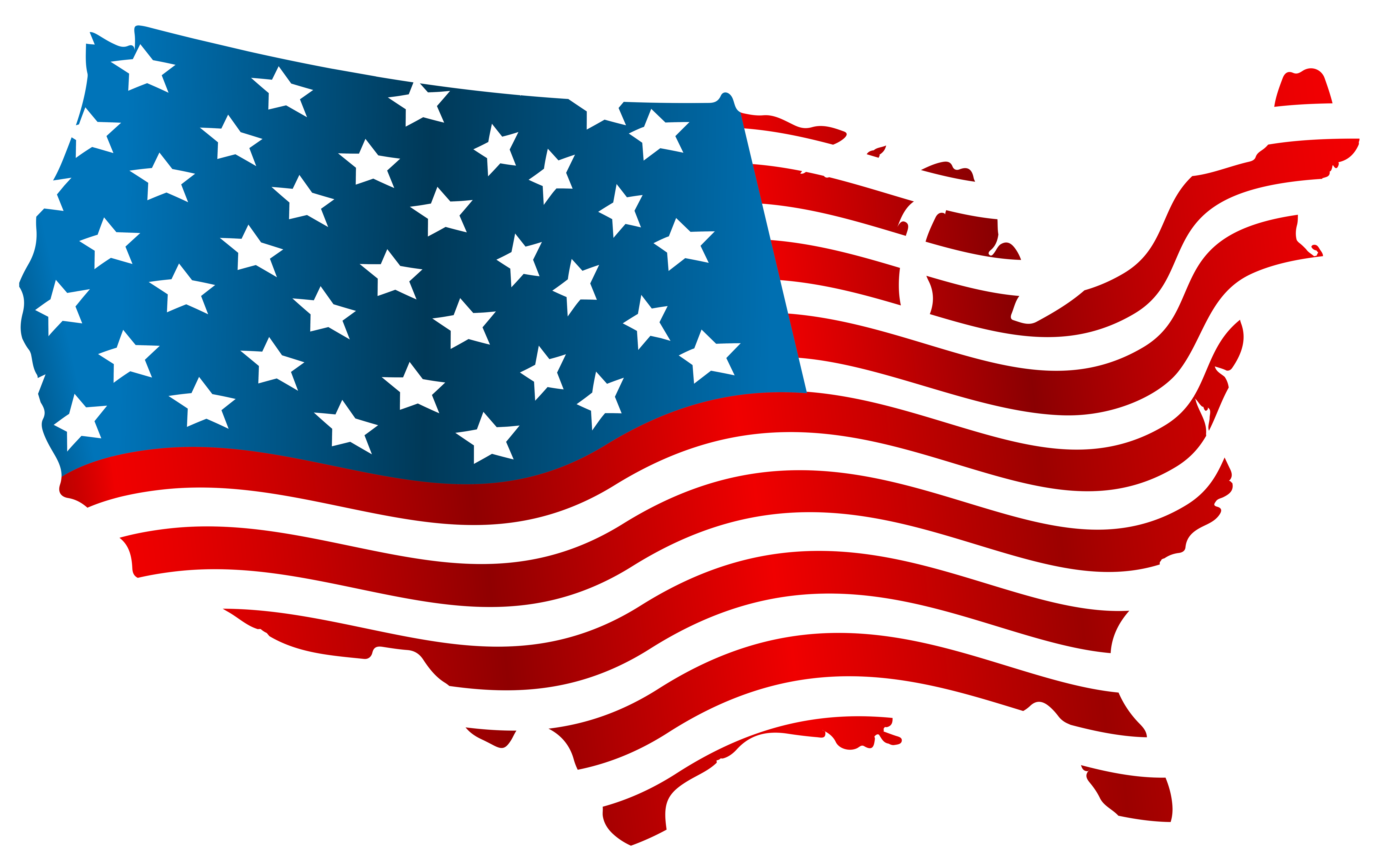 American flag horseshoe clipart banner freeuse Flag of the United States Map Clip art - USA Flag Map PNG Clip Art ... banner freeuse