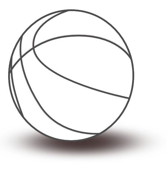 Clipart black and white basketball in net svg transparent stock clipartist.net » Clip Art » basketball black white line SVG svg transparent stock