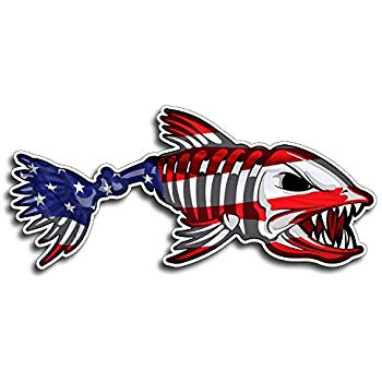 American flag red fish clipart royalty free stock Amazon.com: Florida FL Red Fish Sticker Car Truck Laptop Fishing ... royalty free stock